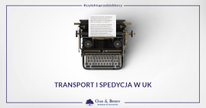 Transport i spedycja w UK