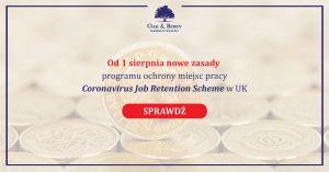 Firma w UK a Coronawirus COVID19
