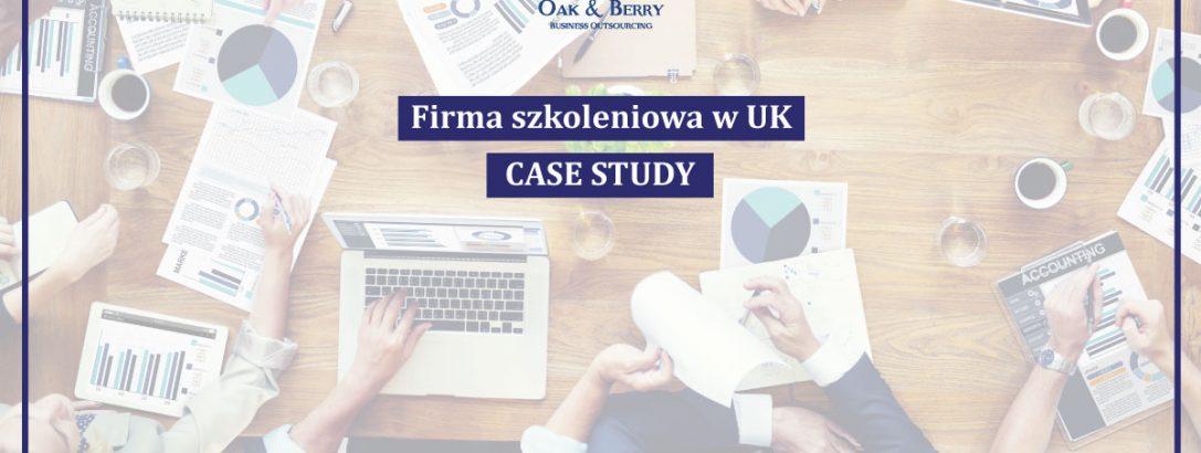 Firma szkoleniowa w UK – CASE STUDY naszego Klienta