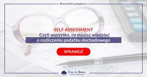 Rozliczenie Self Assesment
