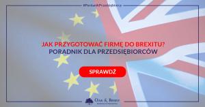 Brexit jak się przygotować?